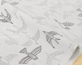 Japanese Fabric Pebble - birds - A - 50cm