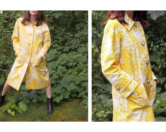 SALE Bright Sixties Long Coat