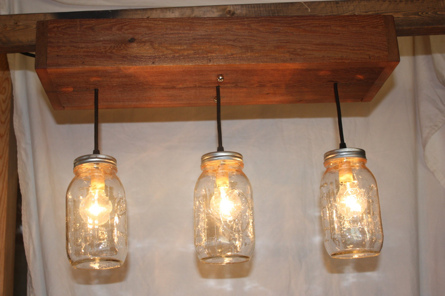 Mason Jar Ceiling Lights Design Decoration