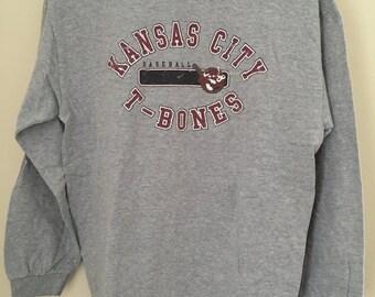 Kansas City T-Bones Baseball Shirt