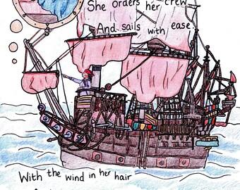Children's Storybook: The Sleeping Village