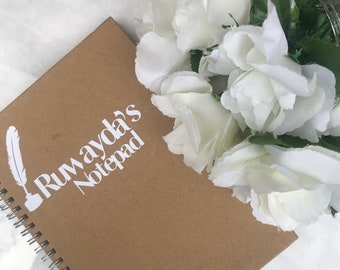 Personalised Lined notepad