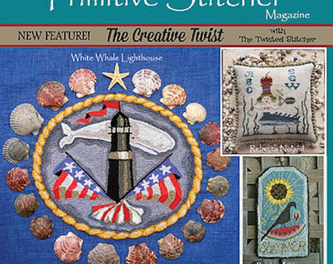 Magazine: NEW!  Summer 2018 - Punch Needle & Primitive Stitcher