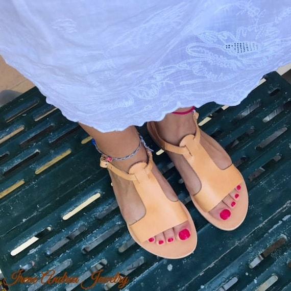 Greek Sandals Roman Sandals Made Color Handmade Leather Sandals Sandals Sandals Greece Ancient Natural Sandals Goddess Greek in wIqUC44Xx