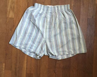 vintage 50s arrow sanforized cotton underwear boxers boxer shorts