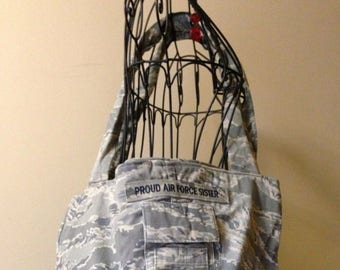 Air Force ABU Camouflage Tote Bag Purse