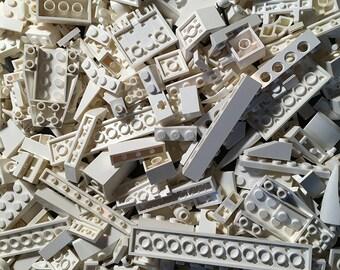 8 oz (1/2 pound) of White Bulk Lego