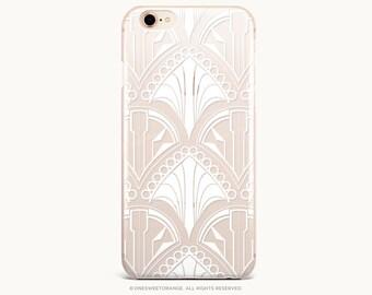 Art Deco iPhone 8 Case iPhone X Case iPhone 7 Case Christmas GRIP Rubber Case iPhone 7 Plus Clear Case iPhone SE Case Galaxy S8 Case U330