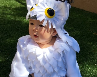Harry Potter, Owl Costume, Hedwig Costume, Harry Potter Owl Costume, Boy Owl Costume, Owl Hat, Halloween Costume, Girl Owl Costume