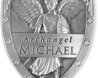 Archangel Pocket Shields / Michael / Gabriel / Raphael / Pewter