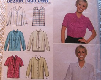Simplicity 7022 size 18 - 24 womens blouse