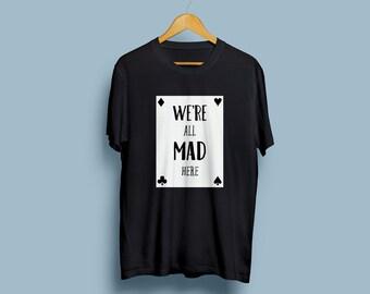 Alice in wonderland Black T-shirt