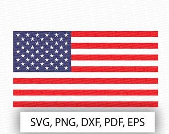 USA flag svg, usa Vector, Clipart, Cut File, usa Clip Art, usa, american flag Cricut, png, DXF, pdf, EPS 4th of july svg #vc-13