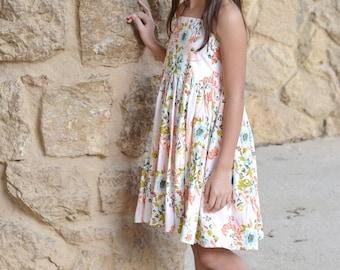 Elise Halter Dress PDF Sewing Pattern, including sizes 12 months-14 years, Girls Dress Pattern, Tween Dress Pattern