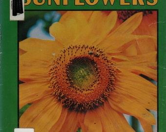 Sunflowers a Lerner Natural Science Book + Cynthia Overbeck + Susumu Kanozawa + 1981 + Vintage Kids Book