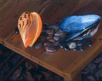 Melon Shell with Mussel