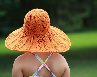 Summer Hat Knitting Kit - Many Colors