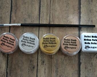 Embossing Kit, Perfect Pearls, Embossing Powder, Ranger Embossing, Embossing Destash, Scrapbook Kit, Cardmaking Kit, Papercraft Kit, Emboss