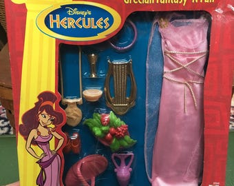 Disney's HERCULES Grecian Fantasy 'N Fun Doll Dress & Accessories Mattel #69268