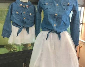 Mother Daughter Matching Dress Mother Daughter Matching Outfit mommy and me matching outfits mother daughter matching dresses tutu dress