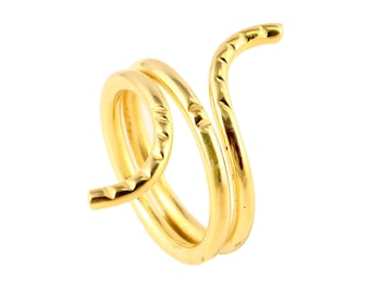 Brass wire shape ring size 9 us
