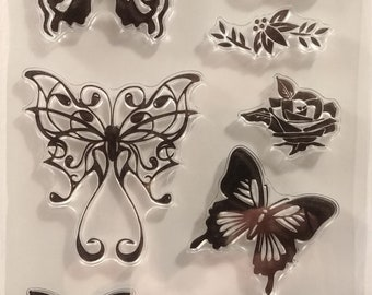 Butterfly Cling Stamps