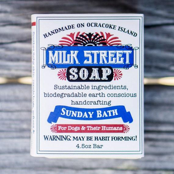 Sunday Bath Olive Oil Dog Soap