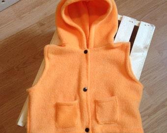 Orange hunting jacket - 12 months