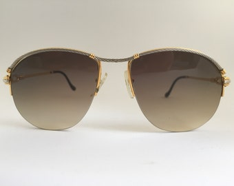 Fred Paris Bermude Re-shaped Custom Made Vintage Sunglasses