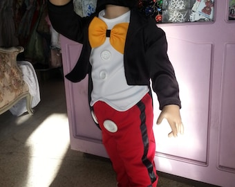 mickey mouse toddler children boy costume birthday #MICKEYMOUSE