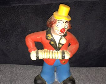 Statue of a clown made in Portugal