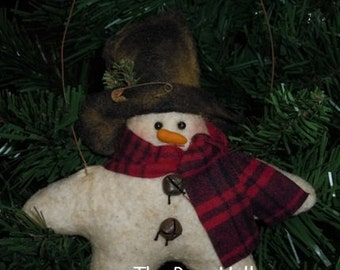 E-PATTERN / INSTANT DOWNLOAD - Seymour the Snowstar Ornie