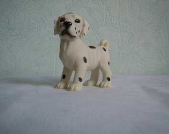 Figurine, Dalmatian ceramic dog, collection