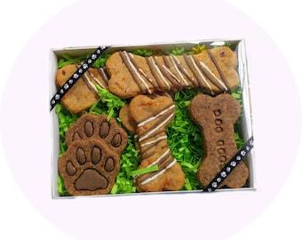 Homemade Dog Treats Gift Box - GRAIN-FREE