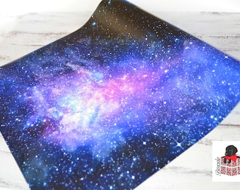 Galaxy wrapping paper, gift wrap, space paper sheets or roll GW3500