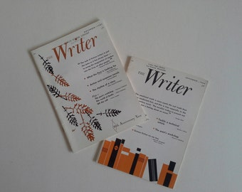 2 Vintage Magazine,  The Writer.