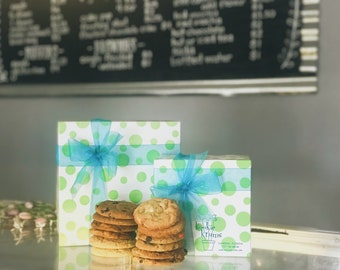 Cookies in Bakery Box