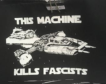 Y-wing Star Wars antifascist patch