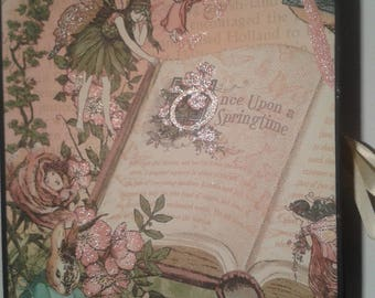 Large 9 x 7 Fairy Mini Photo Keepsake Album Free Shipping