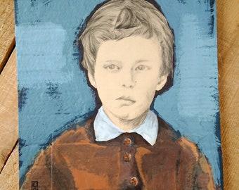 Child portrait - painting