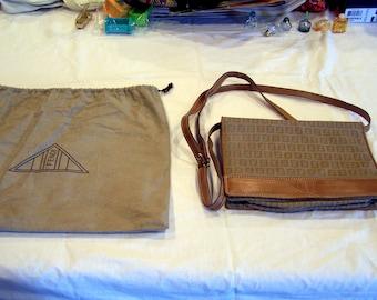 vintage Fendi purse with matching dust bag, c. 1980s