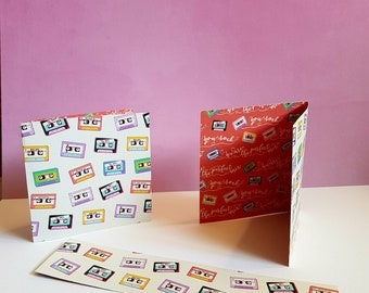 Tape Recorder Bookmark/Cards