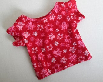 """18"""" Doll T-shirt - 18 Inch Doll Clothes - Fits Like American Girl ® Doll Clothes"""