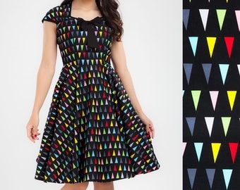 Wimpel Birthday Dress Party Dress Pinup Dress Retro Dress Rockabilly Dress Plus Size Dress Prom Dress Swing Dress 50s Dress Summer Dress