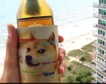 Doge KOOZIE®! Such Awesome. Wow!