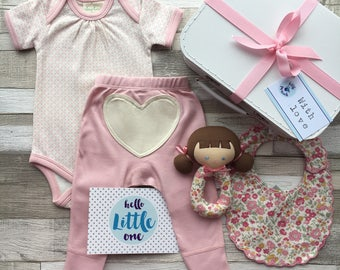 Rose Garden Gift Set (Large) - New Baby Hamper