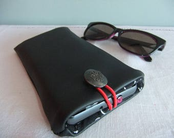 Case two in one for cell phone or glasses case