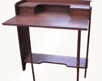 Antique L&jG Stickley Drop Front Desk  w4128