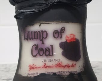LUMP OF COAL scented candle