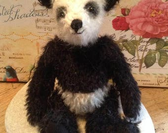 """Chi Chi a 5"""" limited edition hand made collector's panda bear"""
